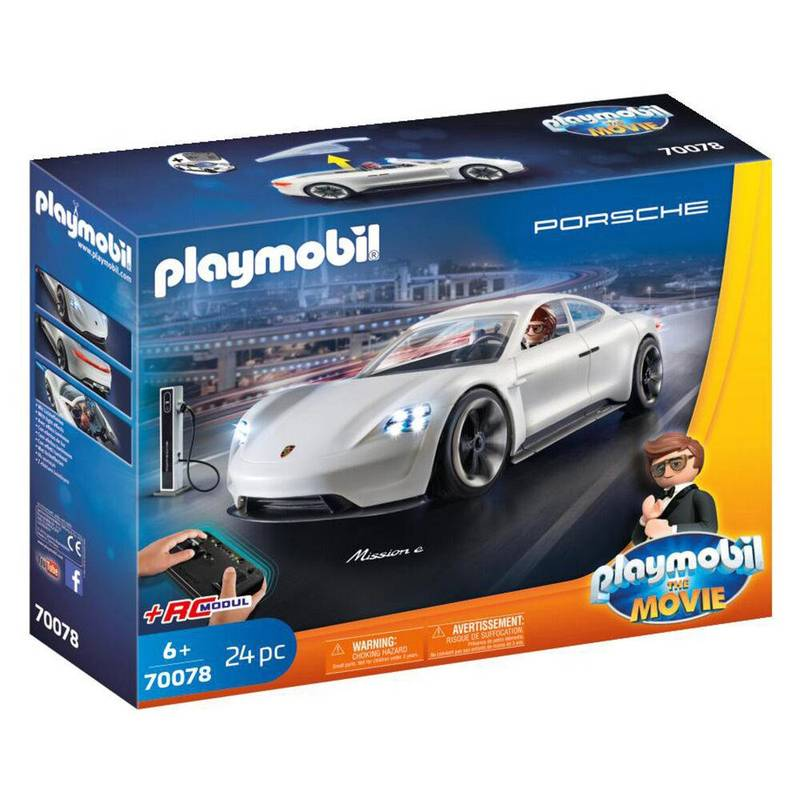 Product image for Porsche Mission E | Playmobil: The Movie - Rex Dasher | Toy Model