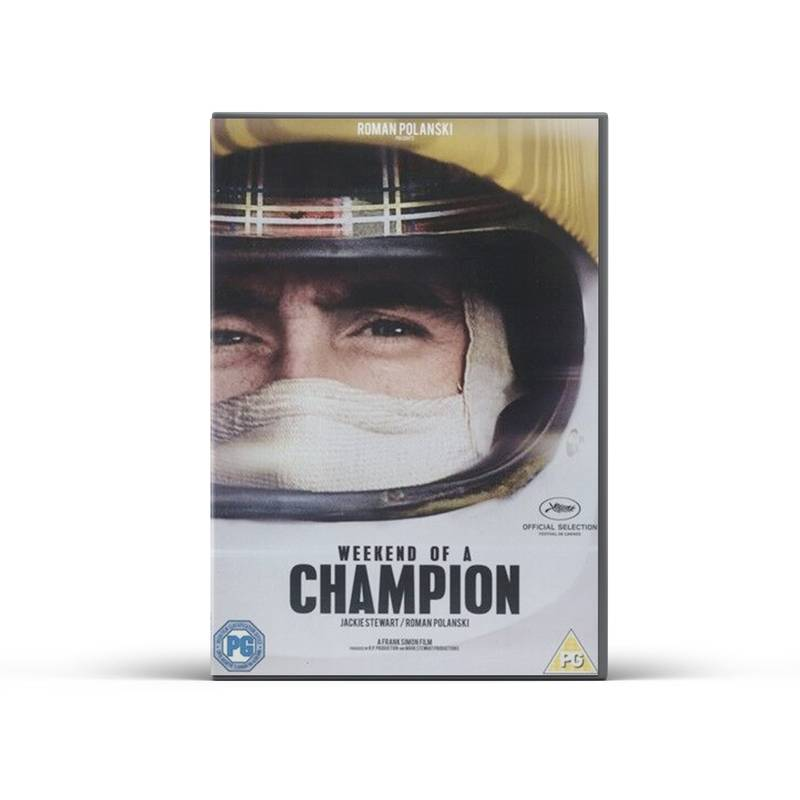 Product image for Jackie Stewart: Weekend of a Champion | DVD