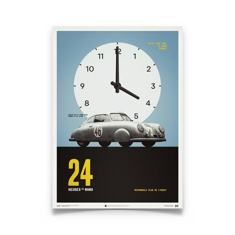 Product image for Porsche 365 SL Gmund - Le Mans - 1951  | Automobilist | poster