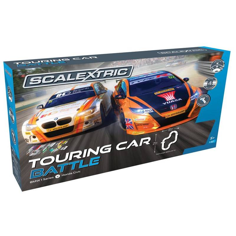 Product image for BMW v Honda - Touring Car Battle | Scalextric