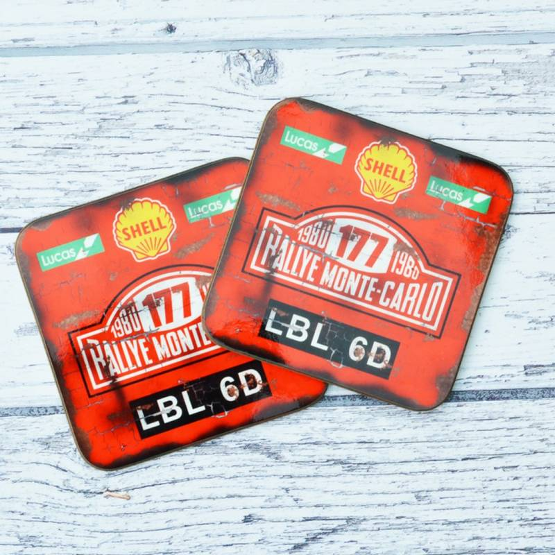 Product image for Monte Carlo Rally - Oil | Coaster