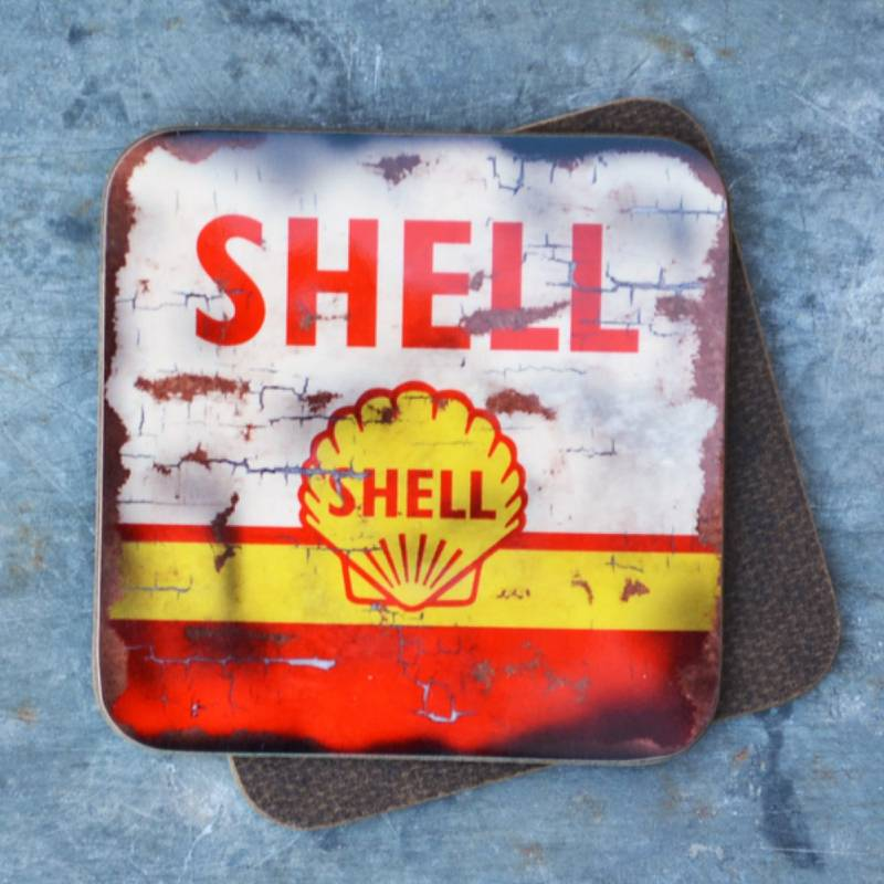 Product image for Shell Oil | Coaster