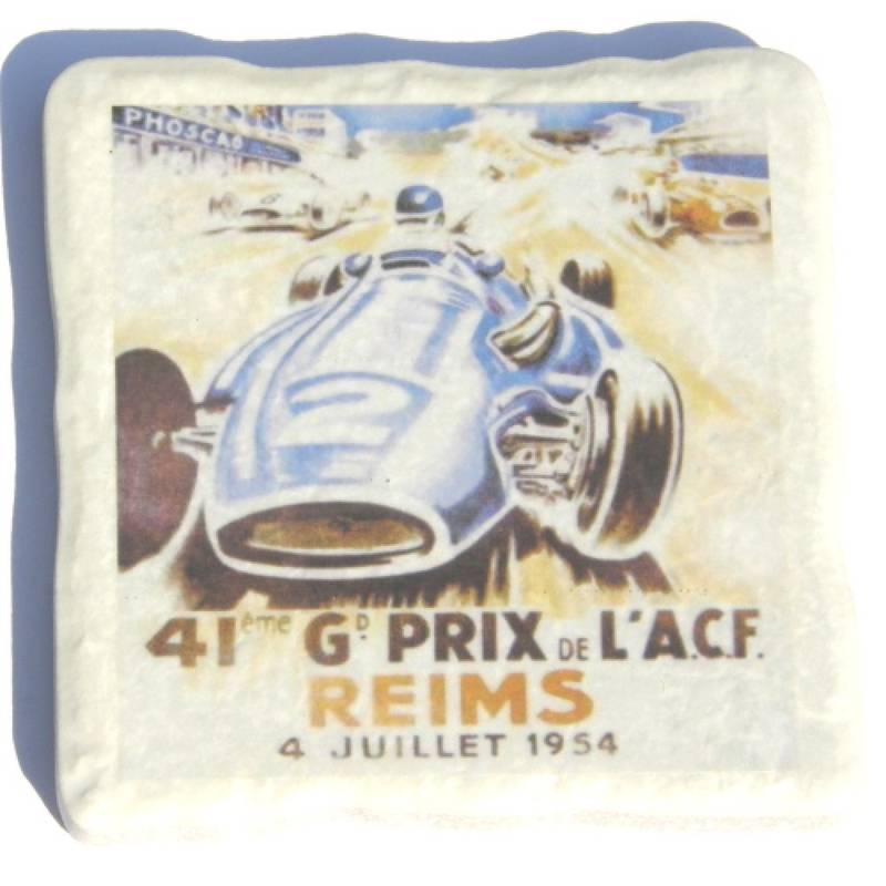 Product image for Grand Prix Coasters | 4 Ceramic Coaster Set | Me and My Car