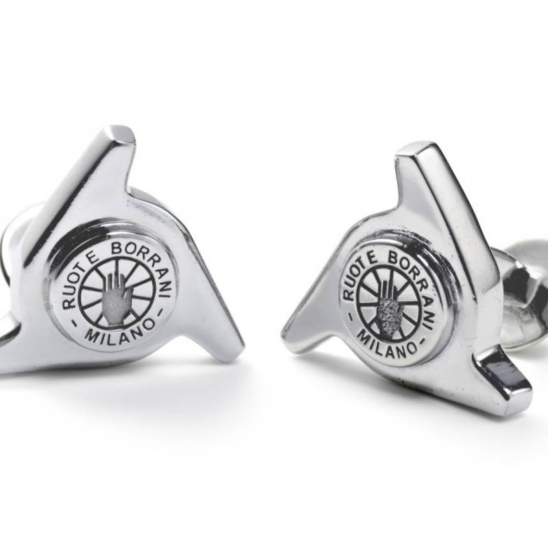 Product image for The Driver's Society | Borrani 3 Ear Spinner | Cufflinks