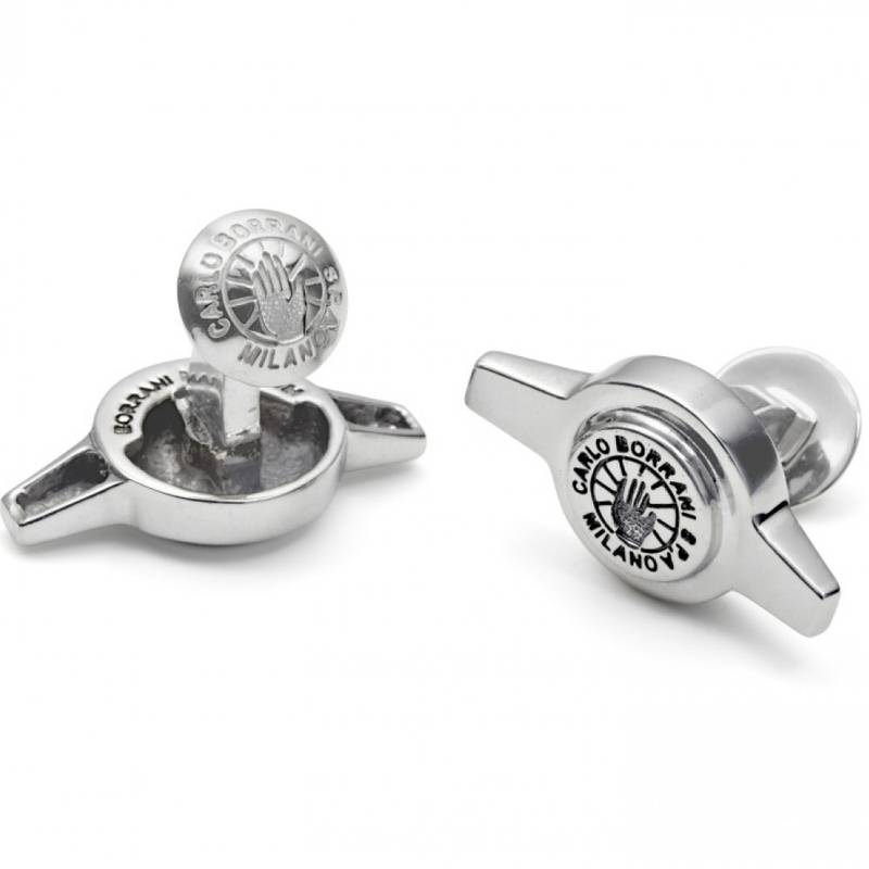 Product image for The Driver's Society | Borrani 2 Ear Spinner | Cufflinks