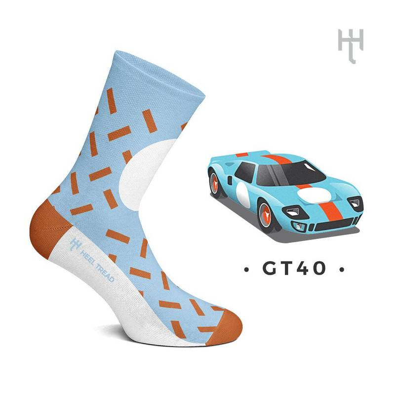 Product image for GT40: Heel Tread Socks