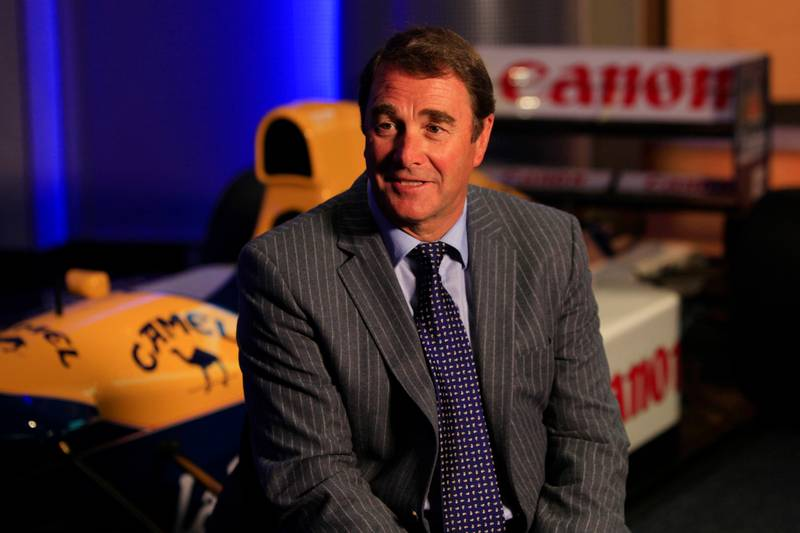 Game Changers: Nigel Mansell, 2019
