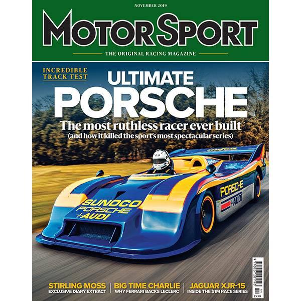 Product image for November 2019 | Ultimate Porsche | Motor Sport Magazine