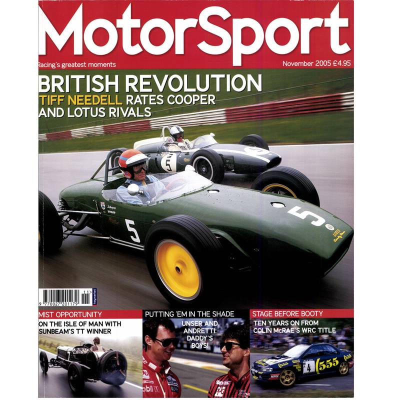 Product image for November 2005 | British Revolution | Motor Sport Magazine