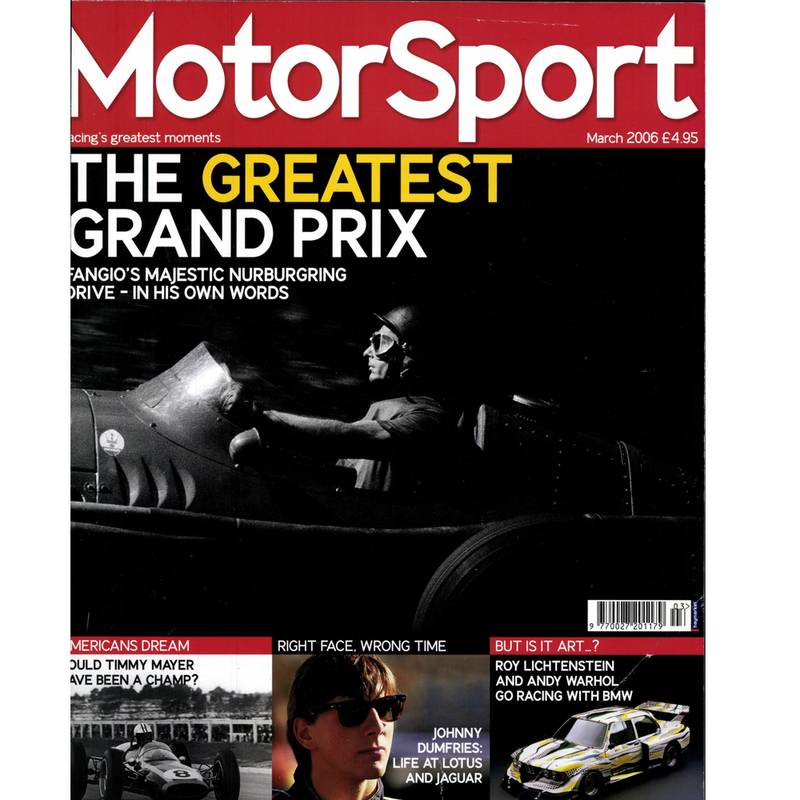 Product image for March 2006 | The Greatest Grand Prix | Motor Sport Magazine