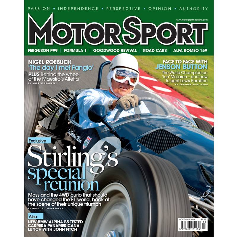Product image for November 2010 | Stirling's Special Reunion | Motor Sport Magazine