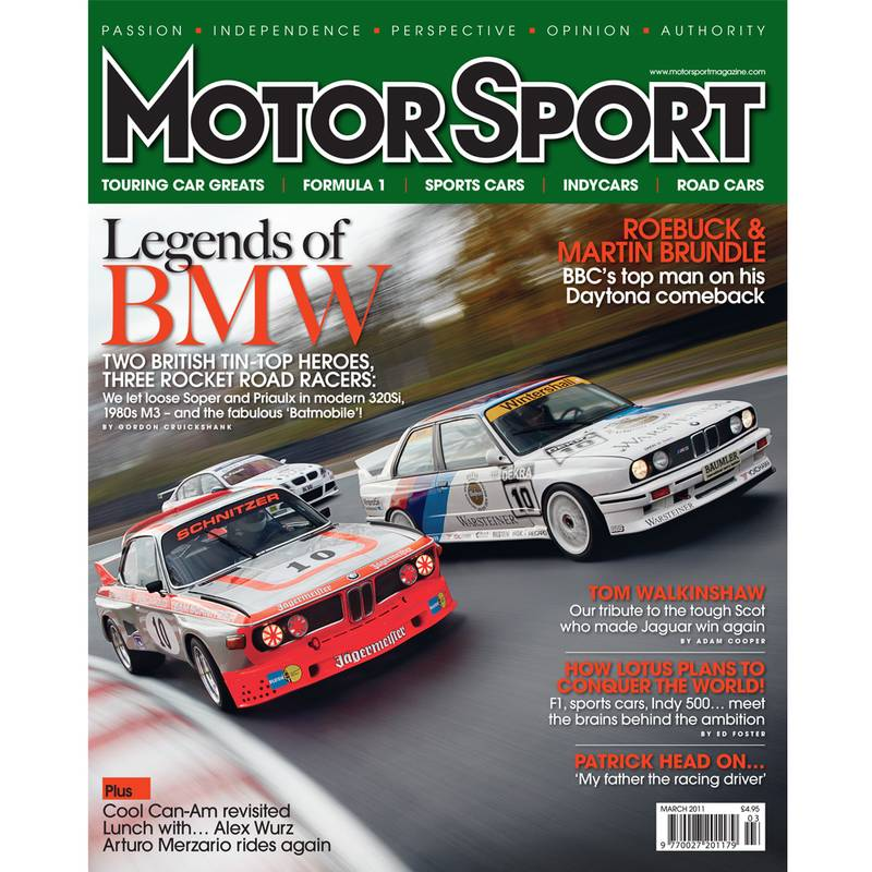 Product image for March 2011 | Legends Of BMW | Motor Sport Magazine