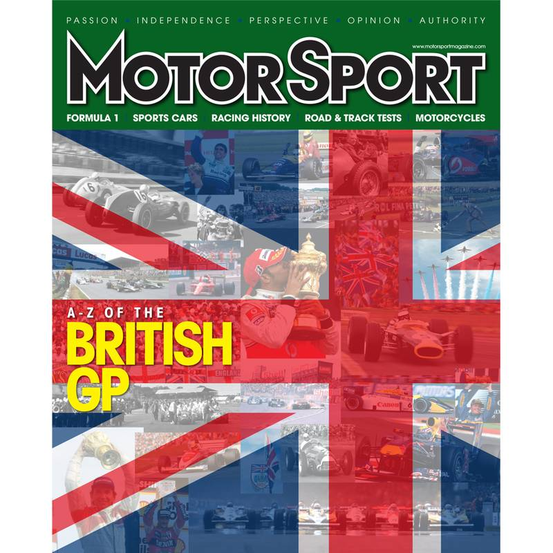 Product image for August 2011 | A-Z Of The British GP | Motor Sport Magazine
