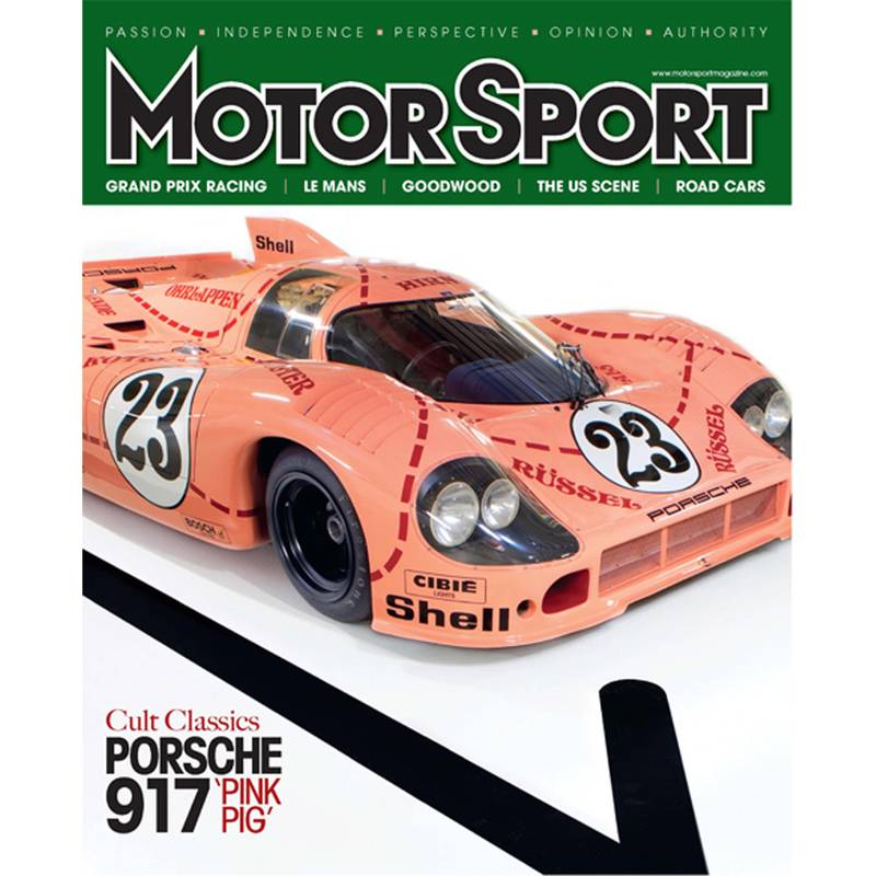 Product image for November 2011 | Cult Classics: Porsche 917 'Pink Pig' | Motor Sport Magazine