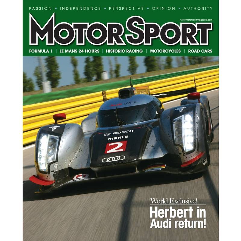 Product image for January 2012 | Herbert In Audi Return! | Motor Sport Magazine