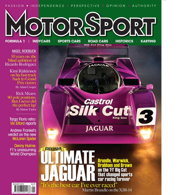 Product image for January 2013 | Ultimate Jaguar | Motor Sport Magazine