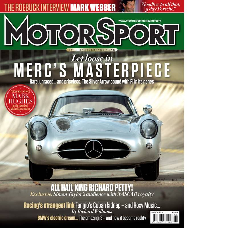 Product image for March 2014   Merc's Masterpiece   Motor Sport Magazine