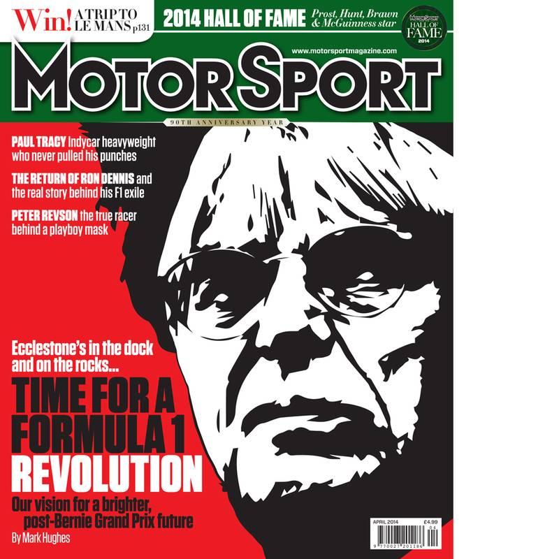 Product image for April 2014   Time For A Formula 1 Revolution   Motor Sport Magazine