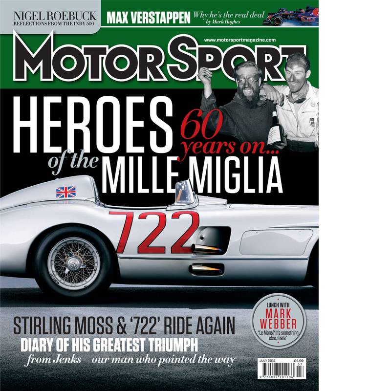 Product image for July 2015   Heroes Of The Mille Miglia   Motor Sport Magazine