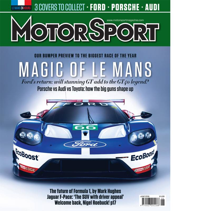 Product image for June 2016 | Magic of Le Mans | Motor Sport Magazine