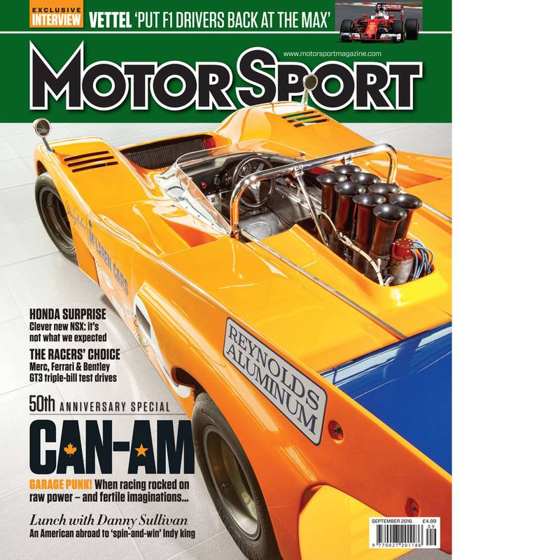 Product image for September 2016 | Can-Am | Motor Sport Magazine