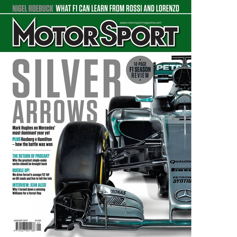 Product image for January 2017 | Silver Arrows | Motor Sport Magazine