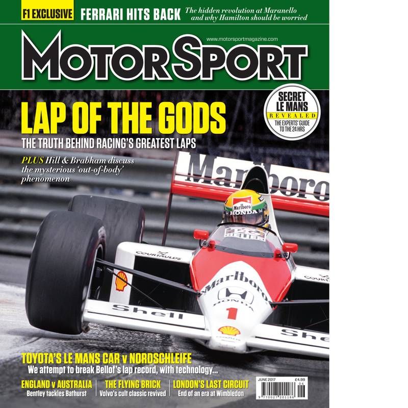 Product image for June 2017 | Lap of the Gods | Motor Sport Magazine