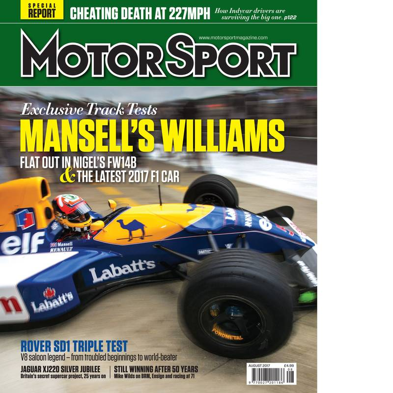Product image for August 2017 | Mansell's Williams | Motor Sport Magazine