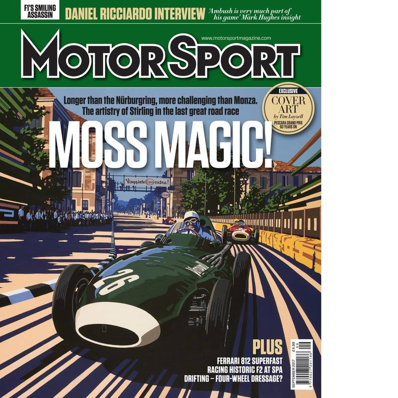 Product image for September 2017 | Moss Magic! | Motor Sport Magazine