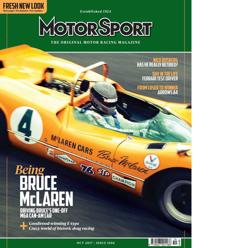 Product image for October 2017 | Being Bruce McLaren | Motor Sport Magazine