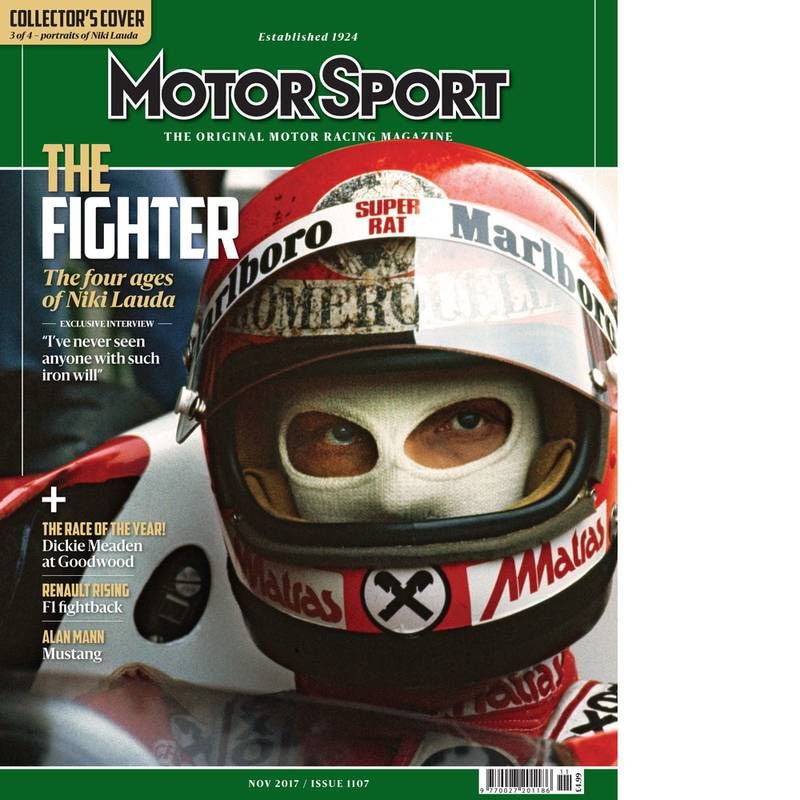 Product image for November 2017 | Niki Lauda: The Fighter | Motor Sport Magazine
