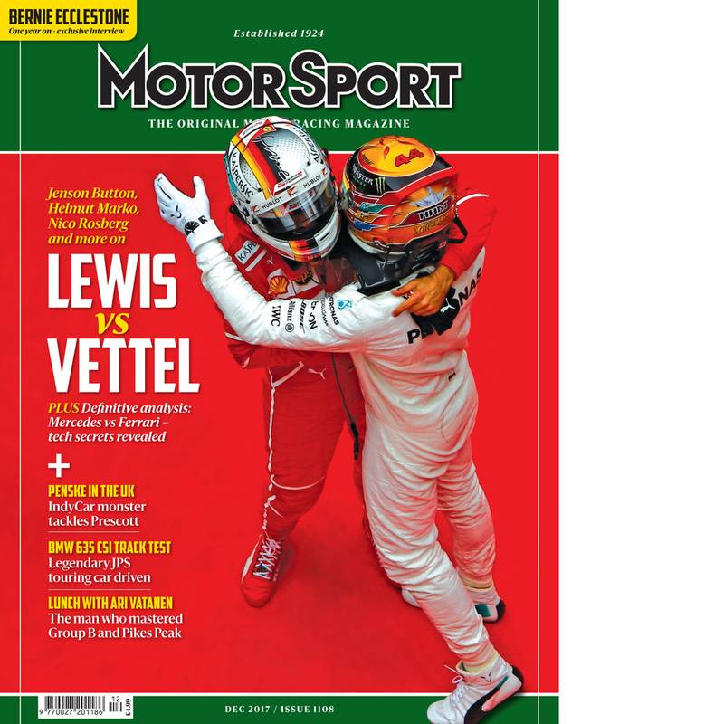 Product image for December 2017 | Lewis Vs Vettel | Motor Sport Magazine
