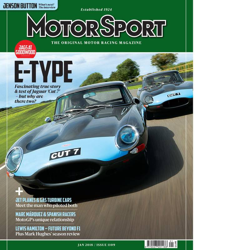 Product image for January 2018 | Jaguar E-type | Motor Sport Magazine