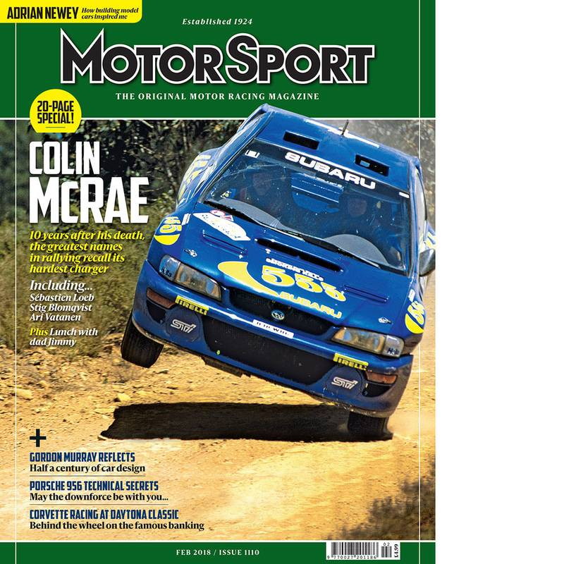 Product image for February 2018 | Colin McRae | Motor Sport Magazine