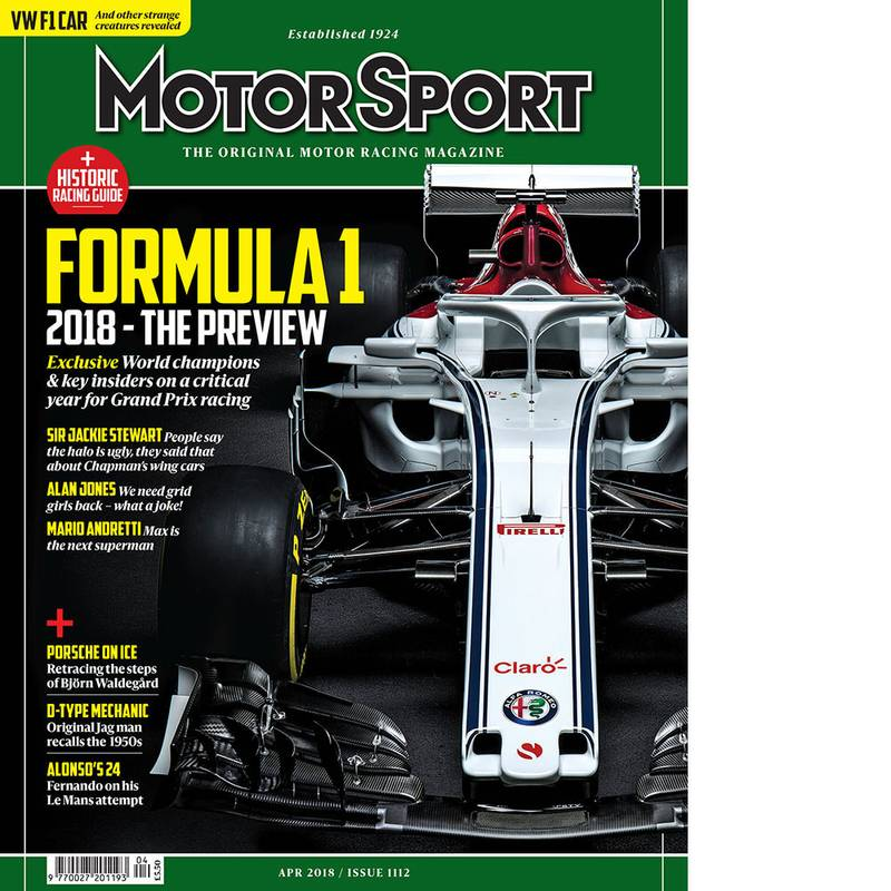 Product image for April 2018 | F1 2018 - The Preview | Motor Sport Magazine