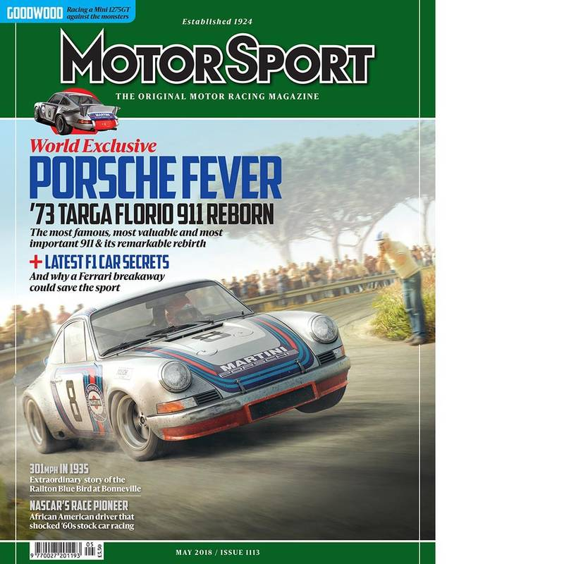 Product image for May 2018 | Porsche Fever | Motor Sport Magazine