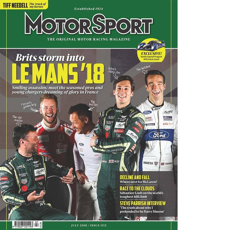 Product image for July 2018 | Brits Storm Into Le Mans '18 | Motor Sport Magazine