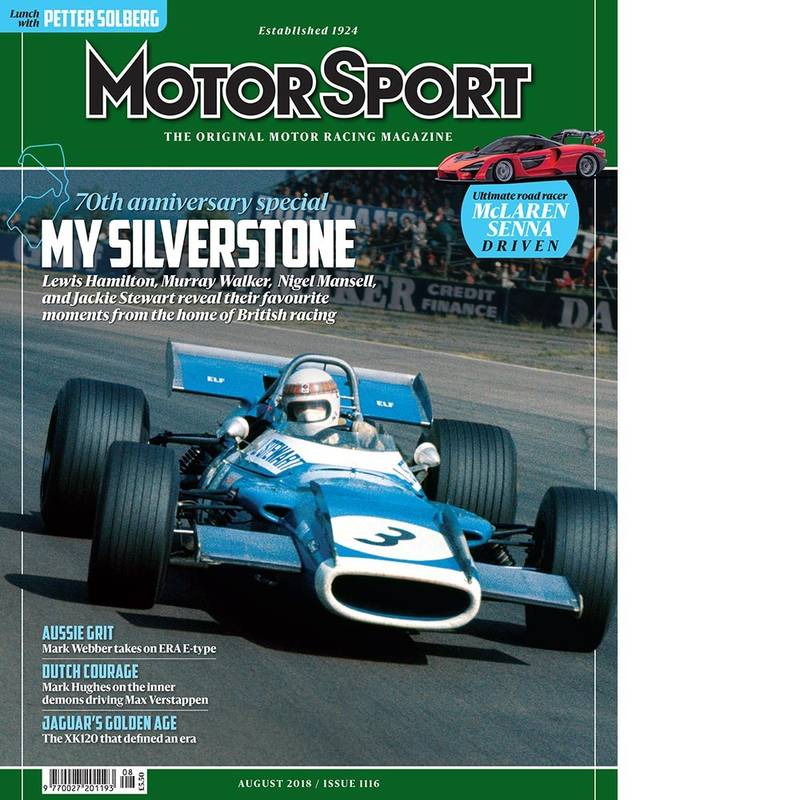 Product image for August 2018 | My Silverstone | Motor Sport Magazine