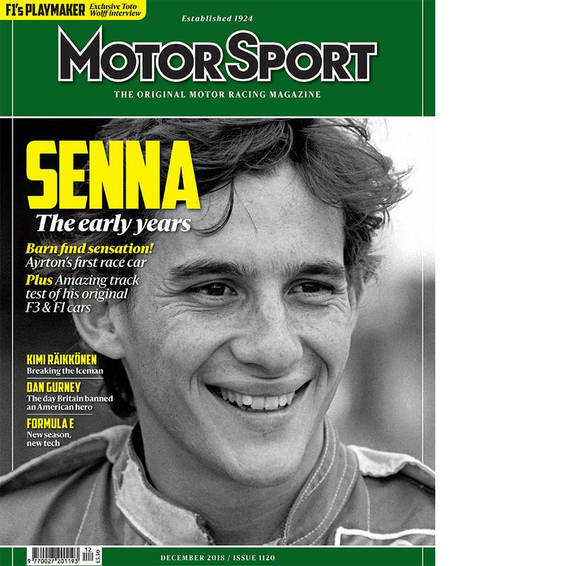 Product image for December 2018 | Senna: The Early Years | Motor Sport Magazine