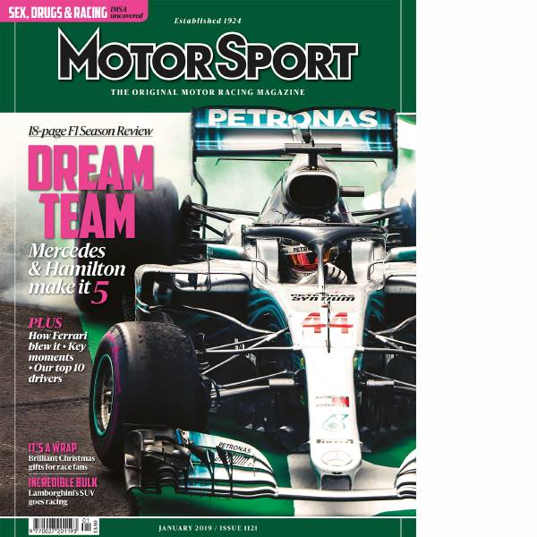 Product image for January 2019 | Dream Team: Mercedes and Hamilton Make It 5 | Motor Sport Magazine