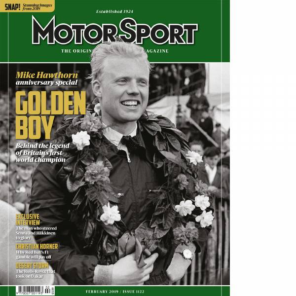 Product image for February 2019 | Mike Hawthorn: Golden Boy | Motor Sport Magazine