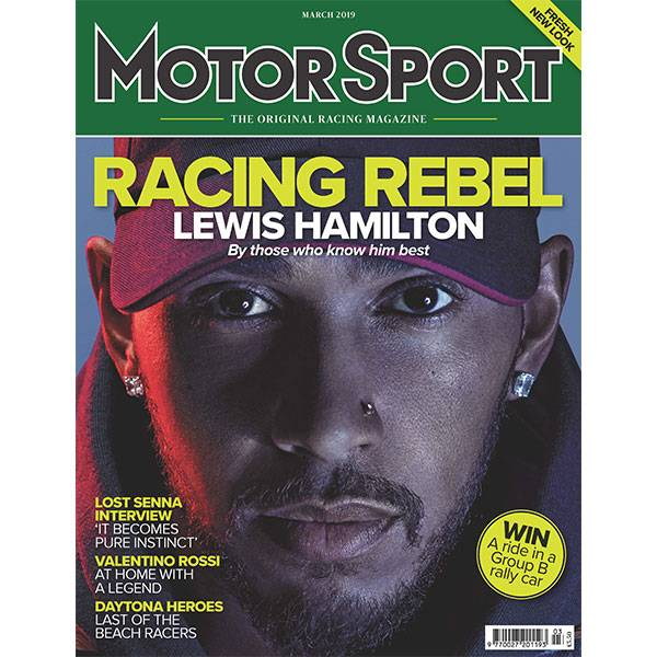 Product image for March 2019 | Racing Rebel: Lewis Hamilton | Motor Sport Magazine