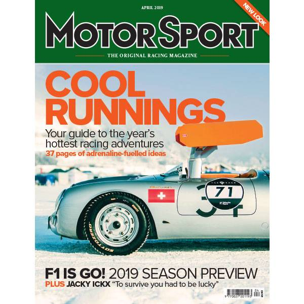Product image for April 2019 | Cool Runnings | Motor Sport Magazine