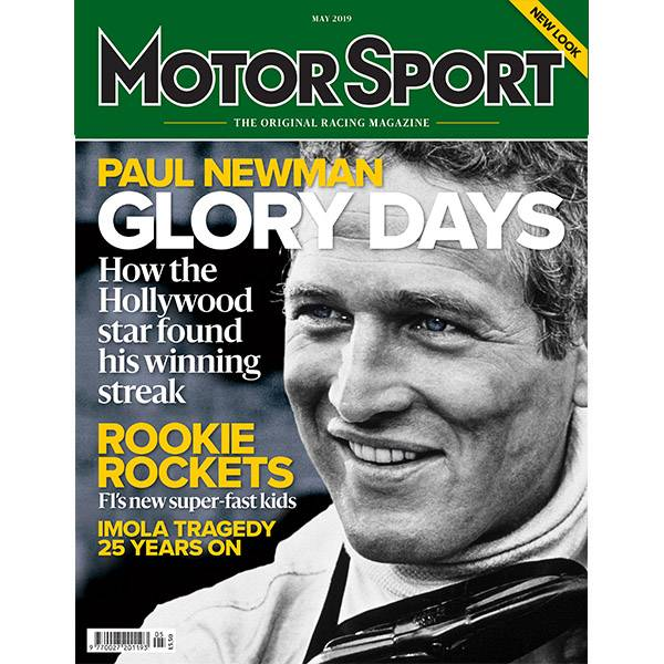 Product image for May 2019 | Paul Newman: Glory Days | Motor Sport Magazine
