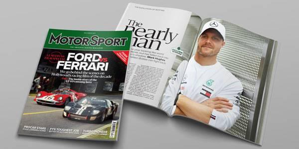 Motor Sport vacancy: Chief Sub-Editor