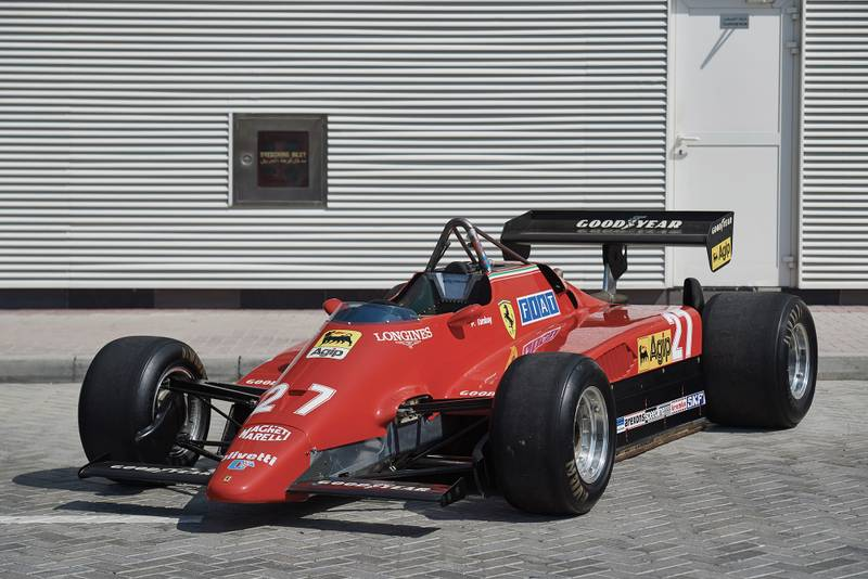 Tambay & Andretti's 1982 F1 grand prix-winning Ferrari up for auction