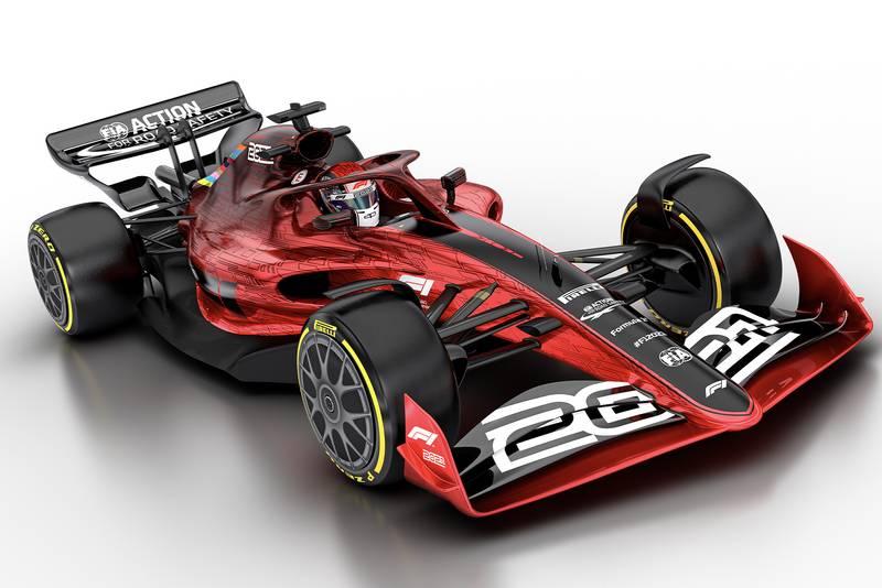 F1 2021 car concept