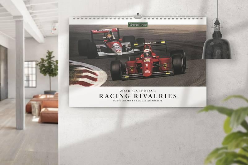 Motor Sport Racing Rivalries 2020 calendar