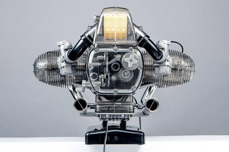 BMW R 90 S motorbike model kit