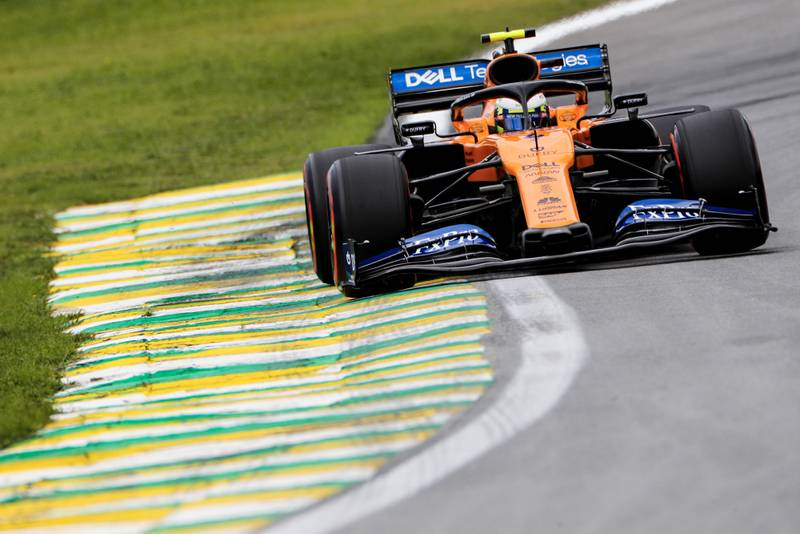 Lando Norris during the 2019 F1 Brazilian Grand Prix weekend